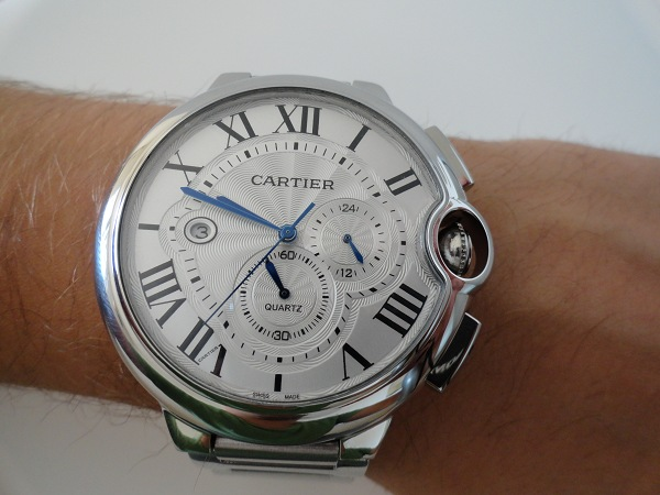 Ballon Bleu de Cartier Chronograph XL Replique Montre