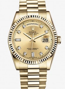 Replique-Rolex-Daydate-Gold-Diamonds