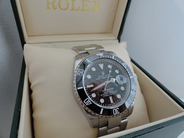 Replique Rolex Submariner Date Black Dial