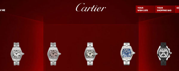 Montres originales Cartier Roadster