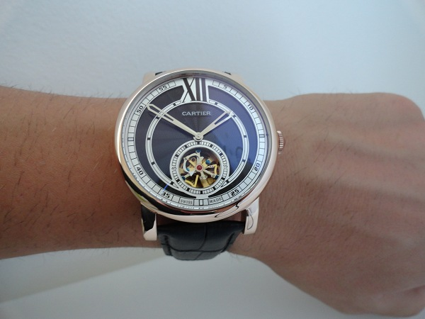 Cartier Rotonde Tourbillon replique montre
