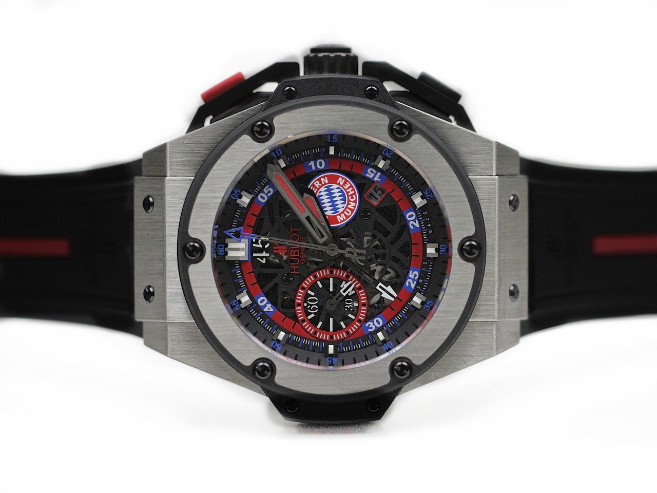 Pas Cher Hublot King Power Bayern Munich Chronograph Replique Montres