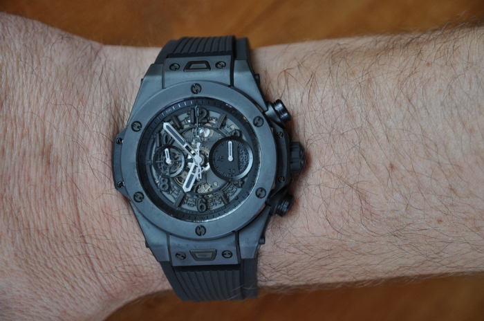 hublot big bang unico all black replica