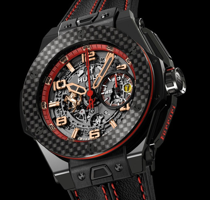 pas cher ferrari big bang russia special edition replique montres vente aaa qualit hublot. Black Bedroom Furniture Sets. Home Design Ideas