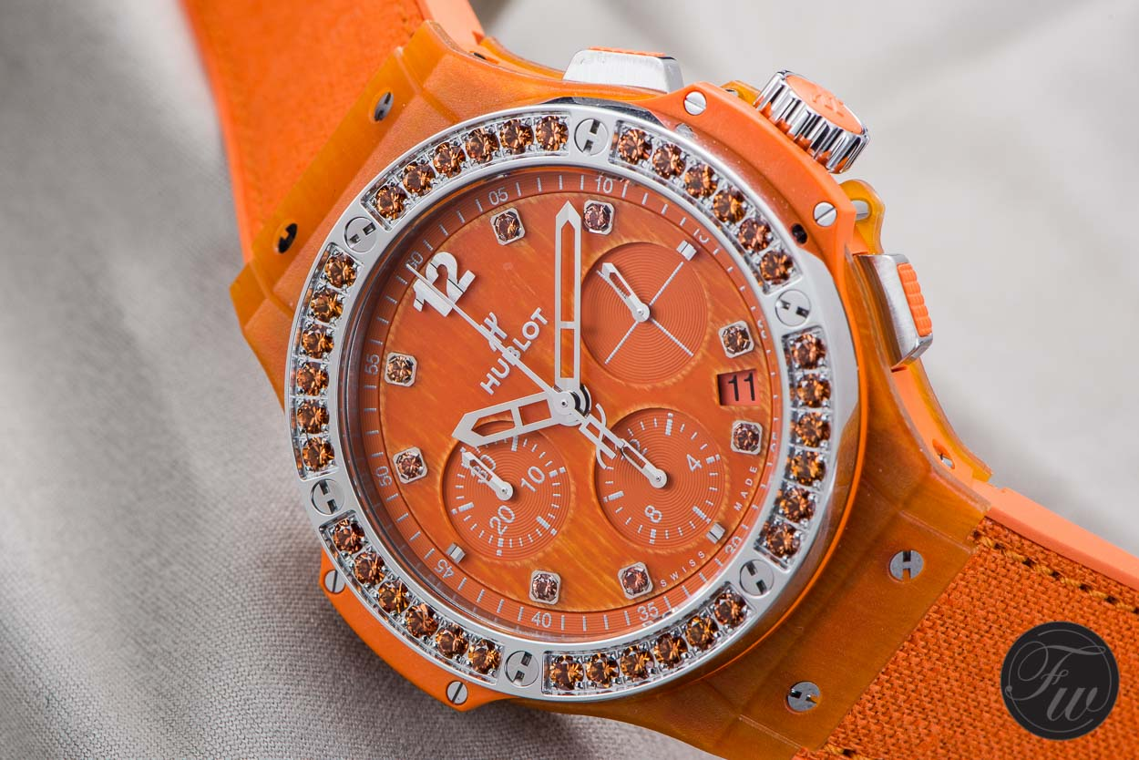 Hublot Big Bang Tutti Frutti Linen Orange