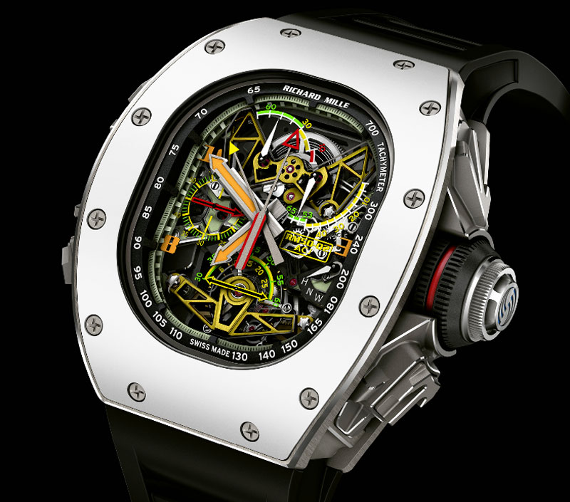 Richard Mille RM 50-02 ACJ Tourbillon chrono rattrapante